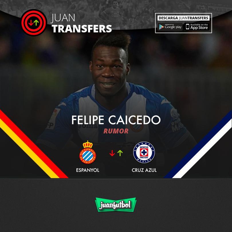 Caicedo llegaría al Cruz Azul.