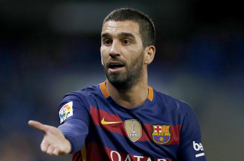 Arda Turán llega al Barcelona.