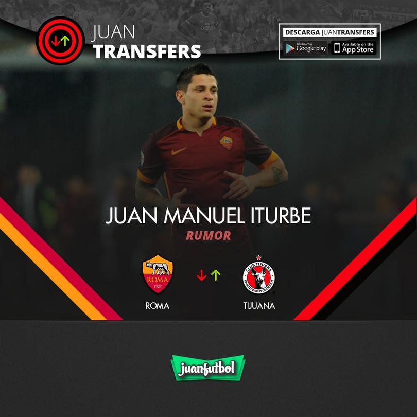 Juan Manuel Iturbe a Xolos