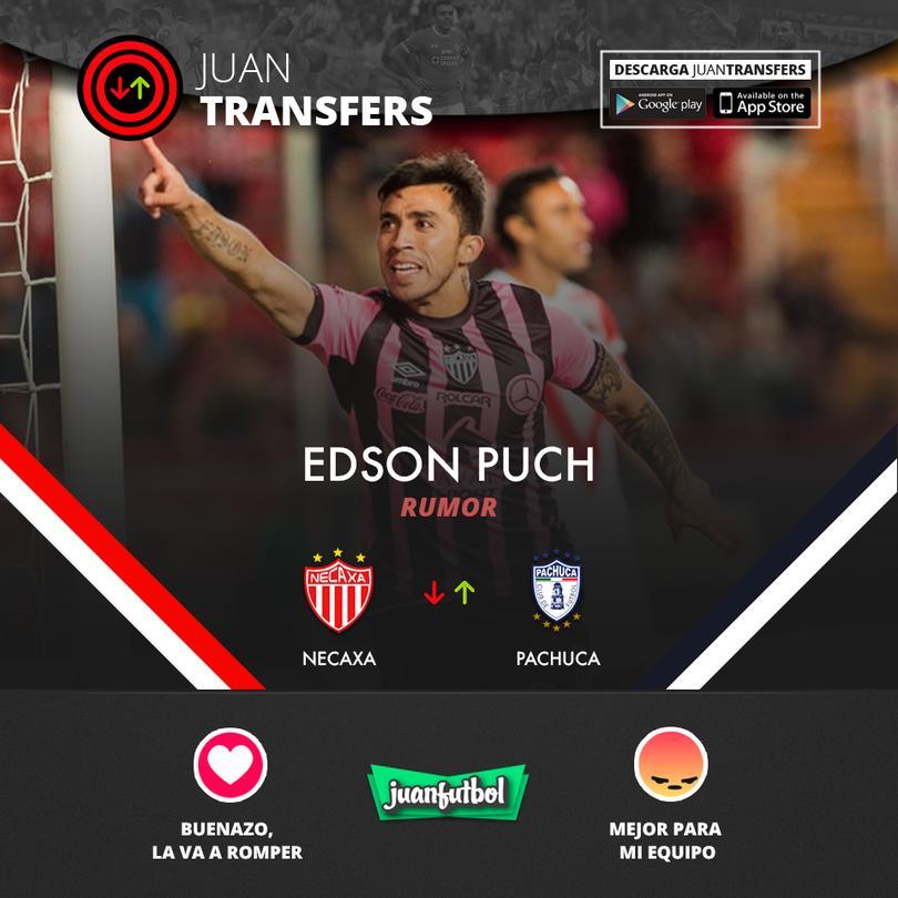 Edson Puch amarrado con Pachuca.