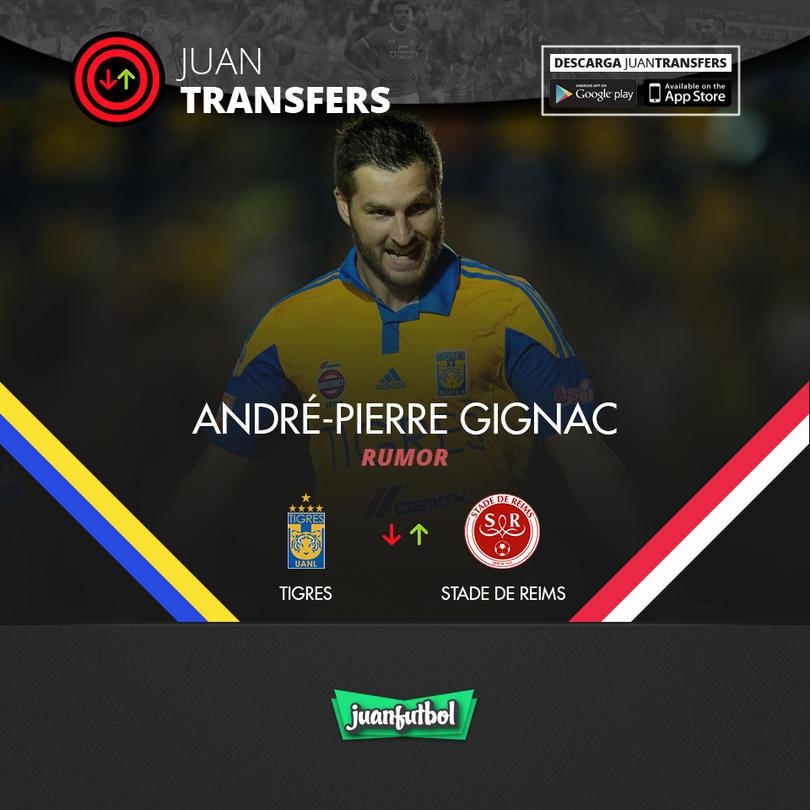 André-Pierre Gignac es buscado por el Stade de Reims