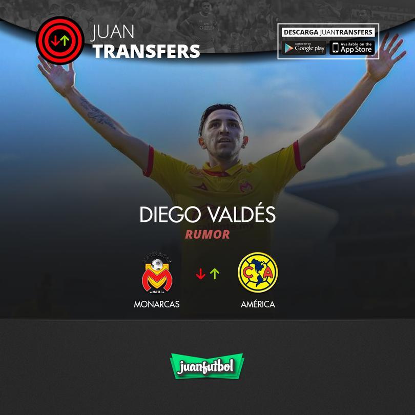Diego Valdés suena para llegar al Ame