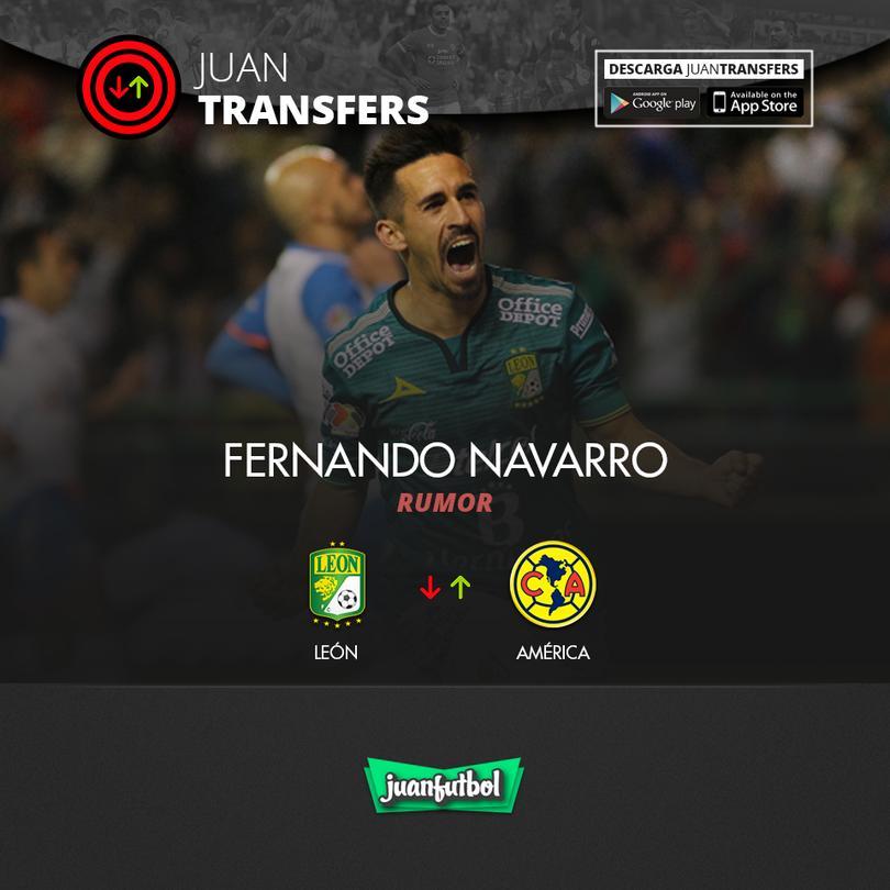Fernando Navarro suena para el Ame