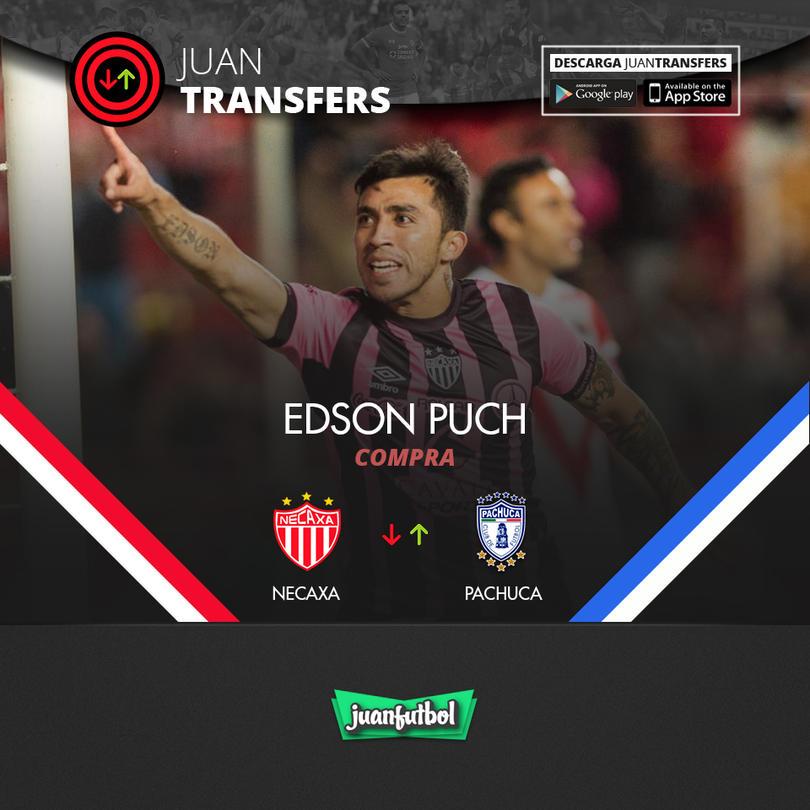 Edson Puch ya es jugador del Pachuca
