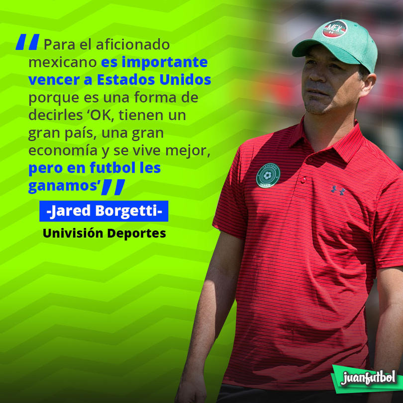 Jared Borgetti dijo esto sobre el México vs. Estados Unidos