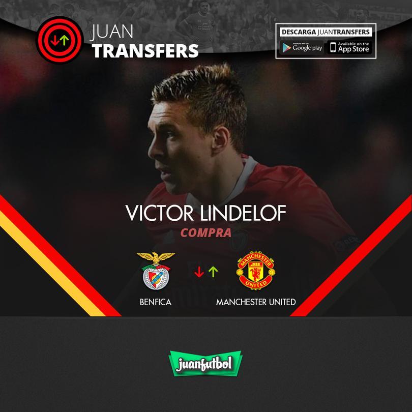 Lindelof llegará al United