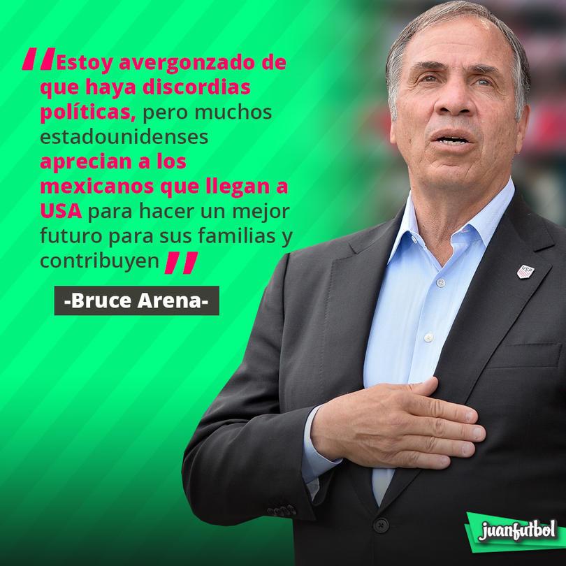 Bruce Arena habló así de los migrantes mexicanos en USA