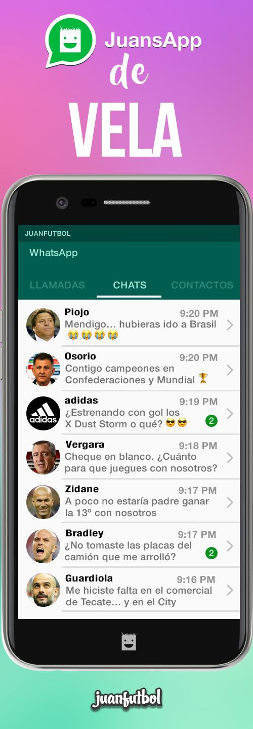 El JuansApp de Carlos Vela