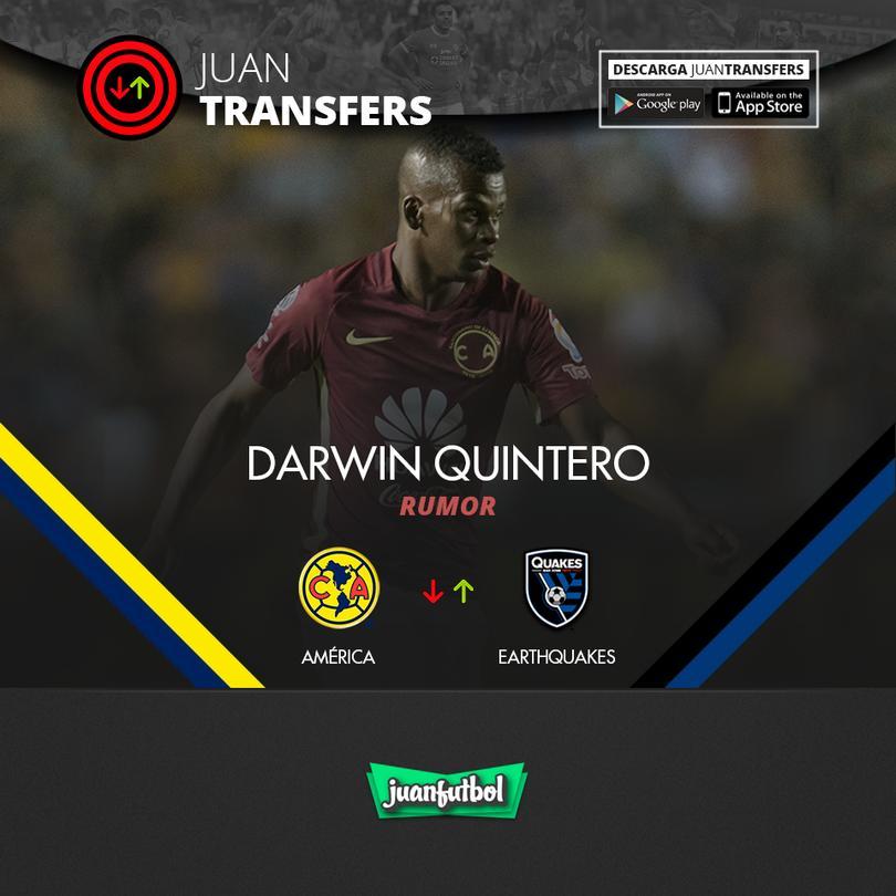 Darwin Quintero iría a la MLS