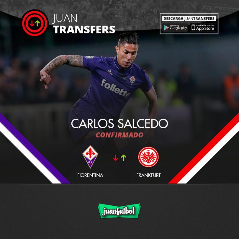Salcedo es nuevo jugador del Frankfurt