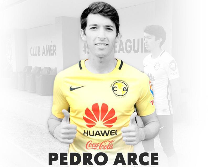 Pedro Arce llega al América