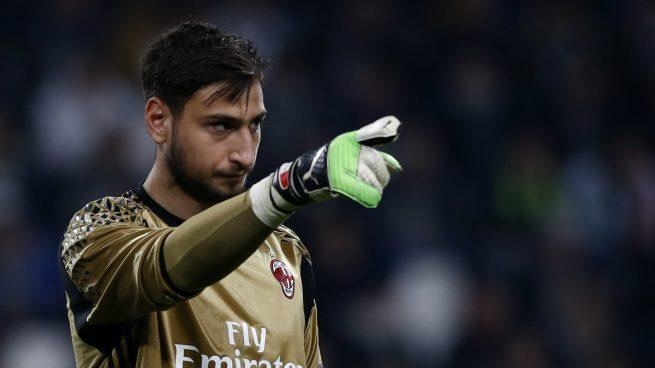 Donnarumma no renovó con el Milan y ya están empezando los rumores que lo sitúan en el Madrid, auqnue no les saldría nada barato.