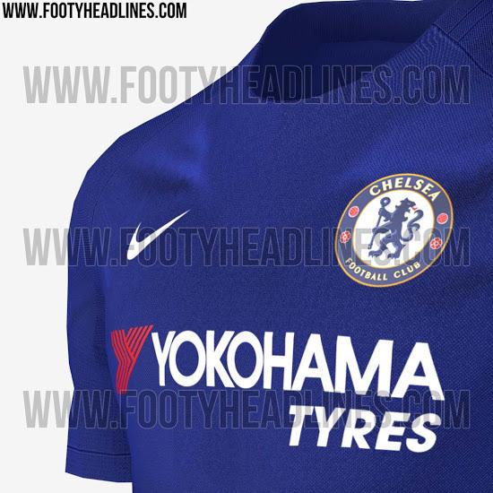 Filtran las fotos de la camiseta local del Chelsea