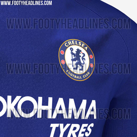 Filtran las fotos de la camiseta local del Chelsea