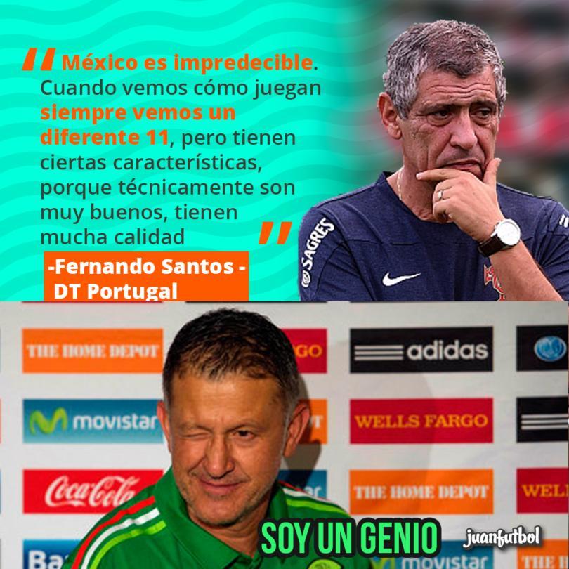Santos dice que México es impredecible