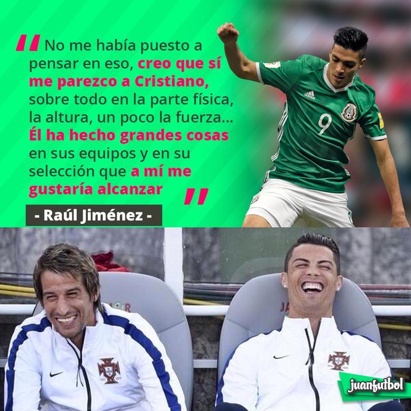 Jiménez dice que se parece a Cristiano... ¡¿neta?!