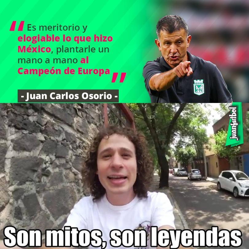Osorio dice que México rifó contra el Campeón de la Euro
