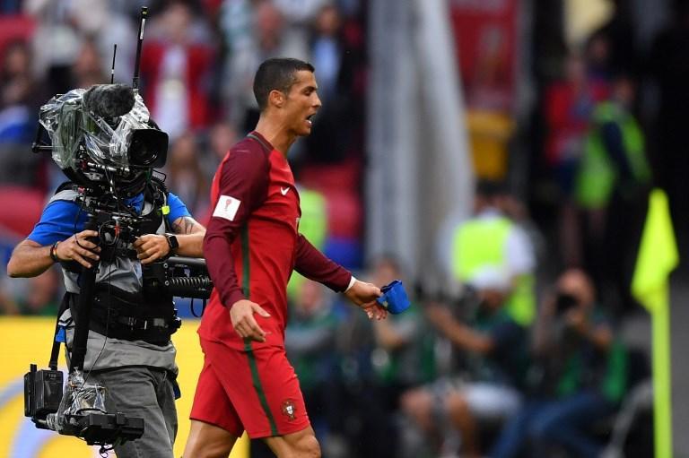 Cristiano Ronaldo dijo a Pepe esto al salir del vestidor para el segundo tiempo del Portugal vs. México