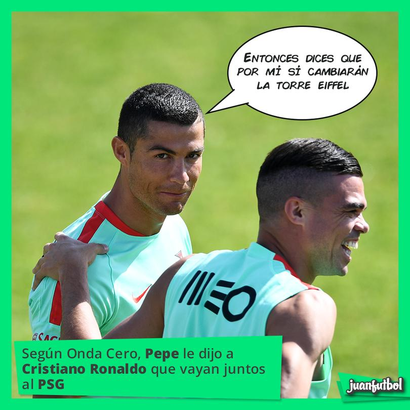 Cristiano Ronaldo podría ir al PSG