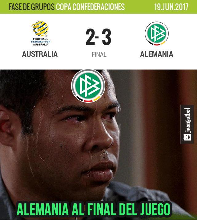 Alemania vence