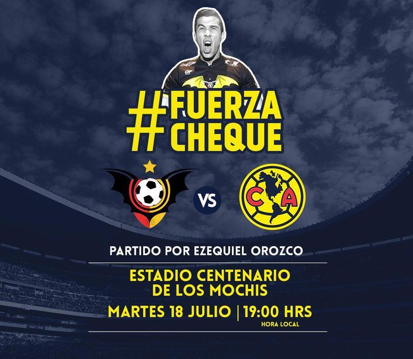 El partido se jugará el 18 de julio en Los Mochis