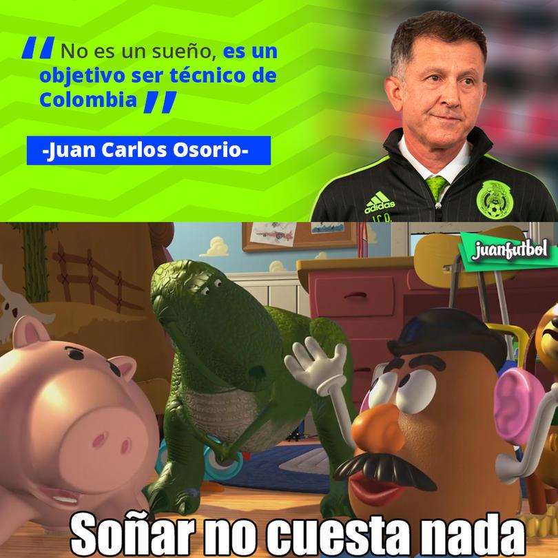 Juan Carlos Osorio quiere ser técnico de Colombia en un futuro