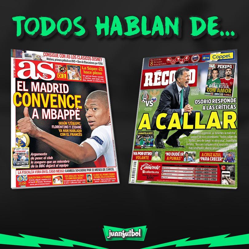 Así amanecieron los periódicos de México y el mundo