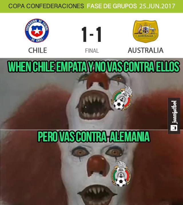 México jugará contra Alemania