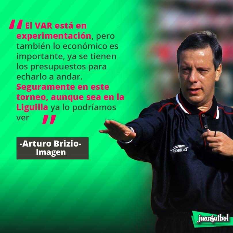Arturo Brizio asegura que el VAR podría estar listo para la liguilla de este torneo.
