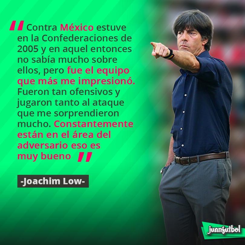 Low respeta a México dice que el equipo lo ha impresionado por ir al ataque.