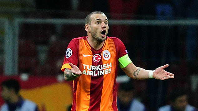 Wesley Sneijder se irá a la MLS