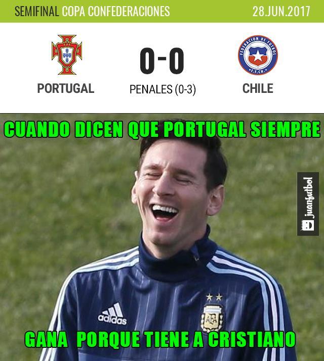 Chile pasa a la final de la Copa Confederaciones.