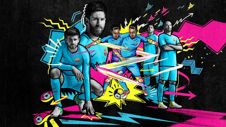 Barcelona Away Jersey 2017-2018