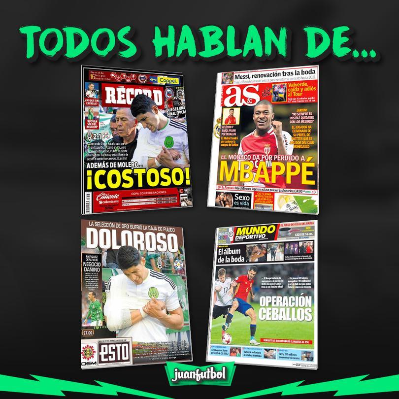 Así amanecieron los diarios en México y el mundo