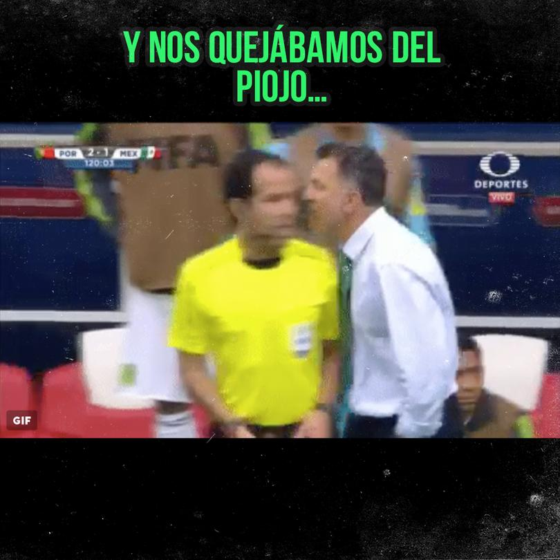 Los mejores momazos del México vs Portugal