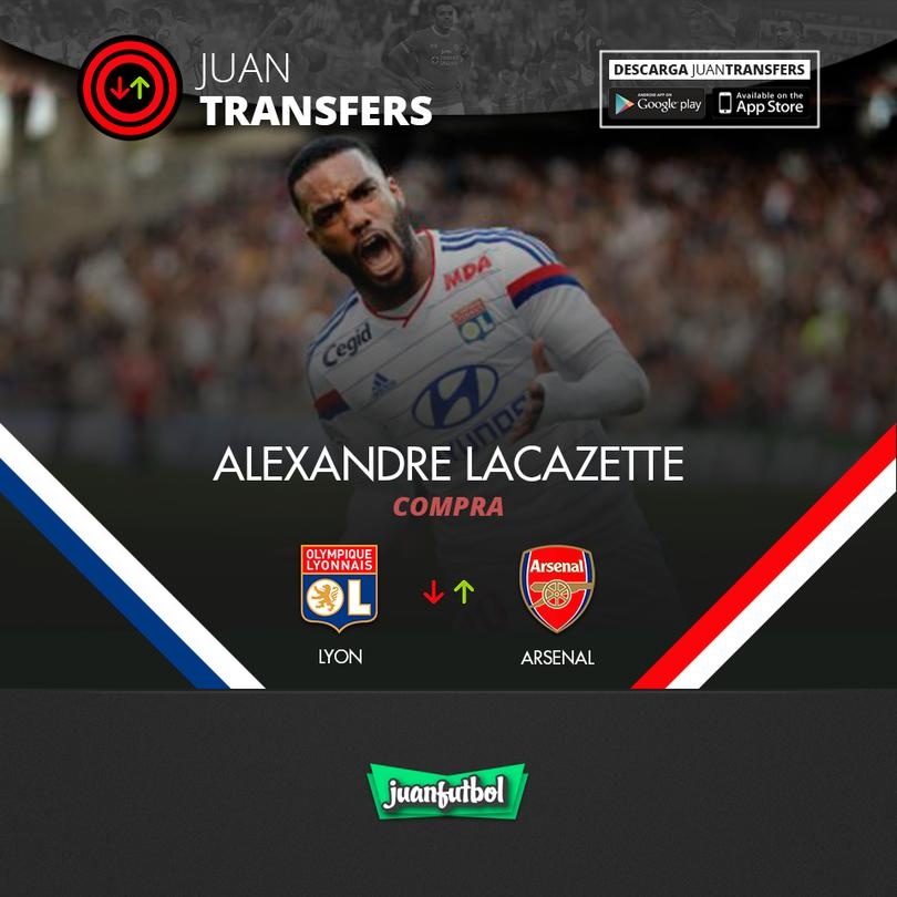 Lacazette al Arsenal