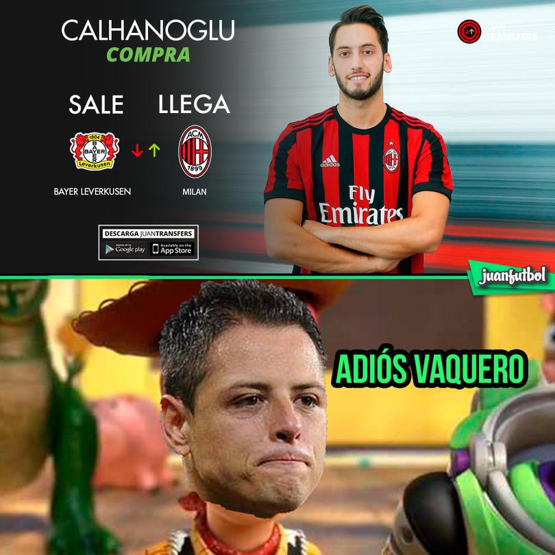 Calhanoglu llega al Milan