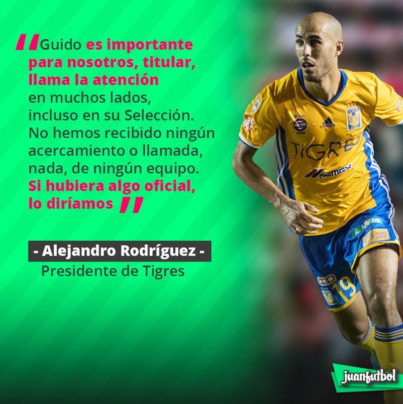 El Ing. Rodríguez desmiente los rumores de Guido