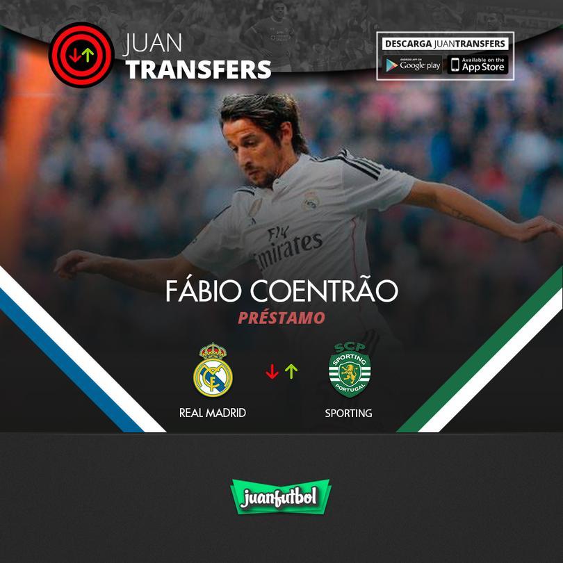 Coentrão se va un año cedido al Sporting