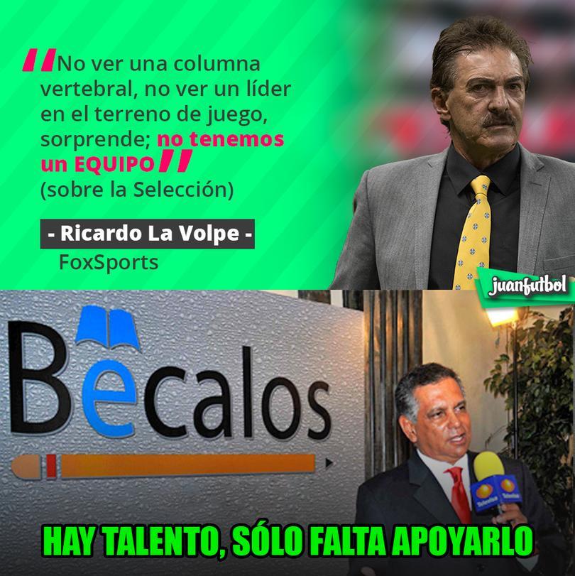 La Volpe se va contra Osorio
