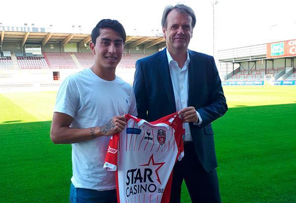 Omar Govea llega al futbol de Bélgica