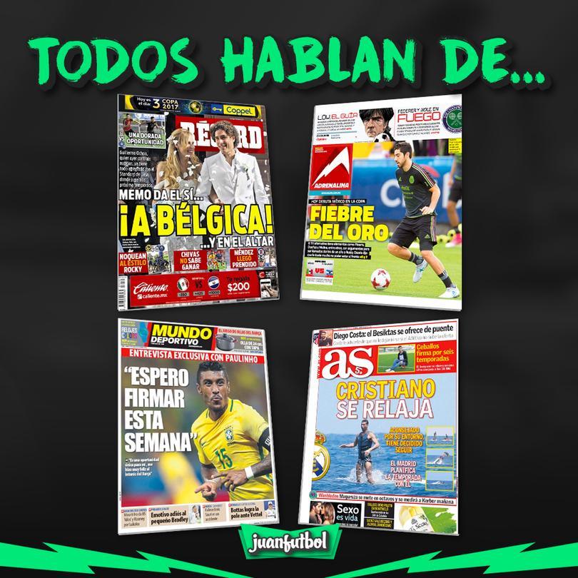 Así amanecieron las portadas de México y el Mundo