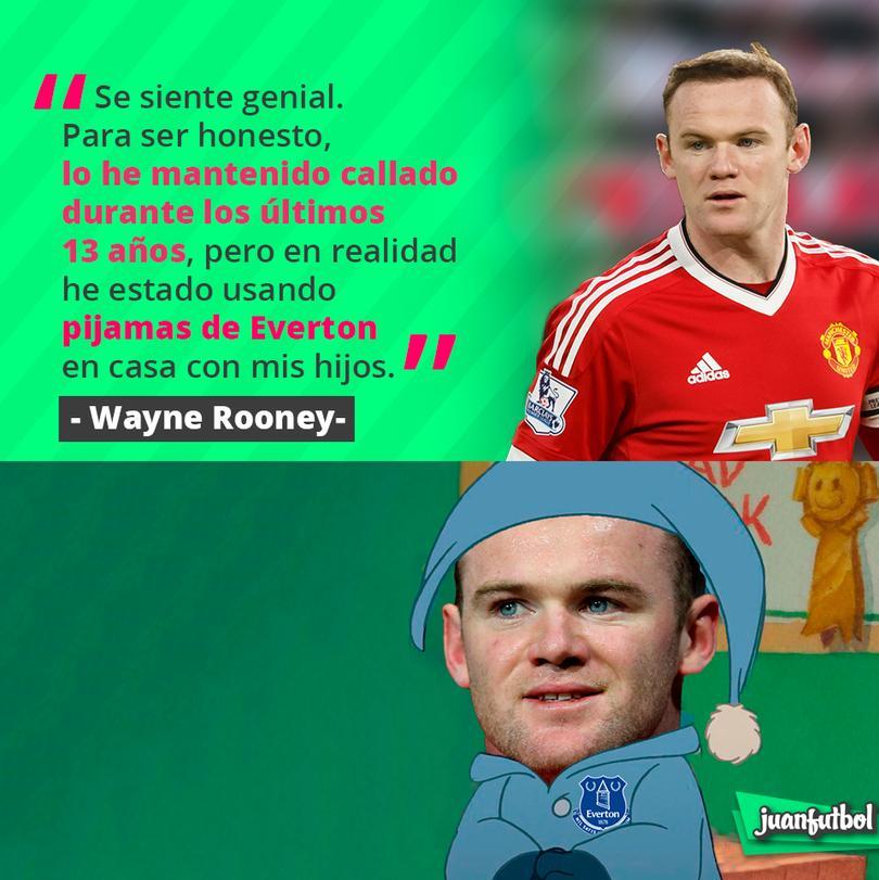 Rooney siempre tuvo presente al Everton