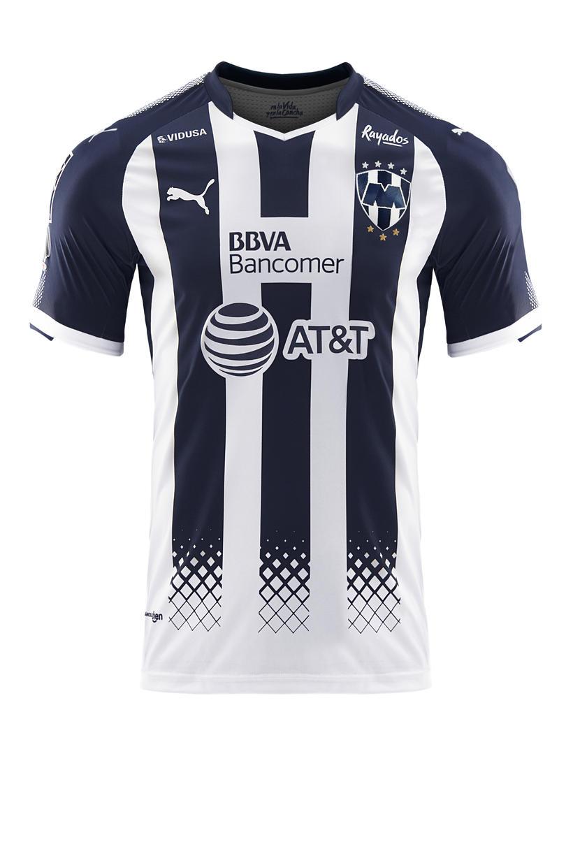 Rayados y Puma presentan jersey de local