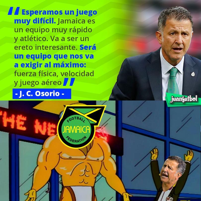 Osorio no se confía para el partido contra Jamaica