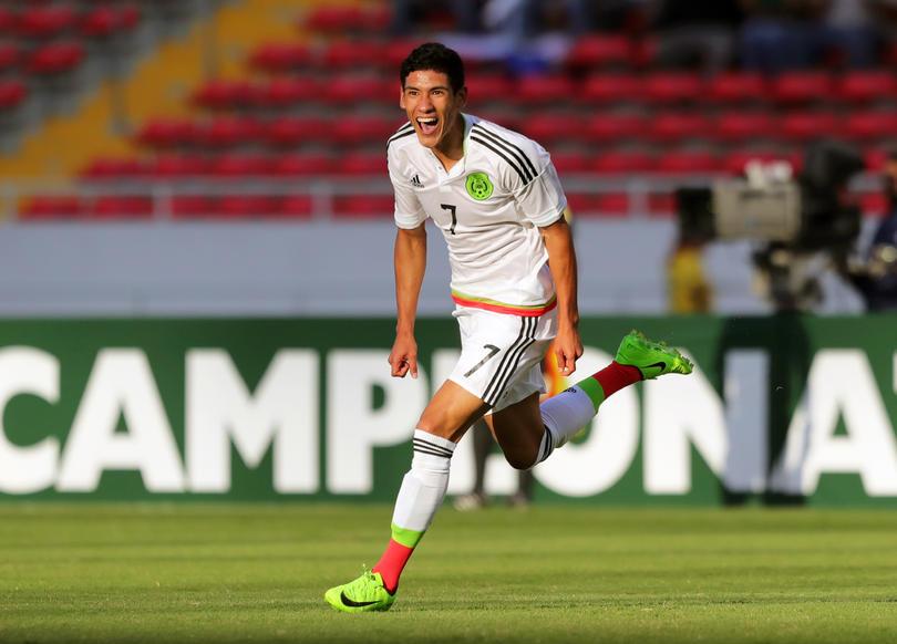 Antuna en la selección Sub 20 ante El Salvador