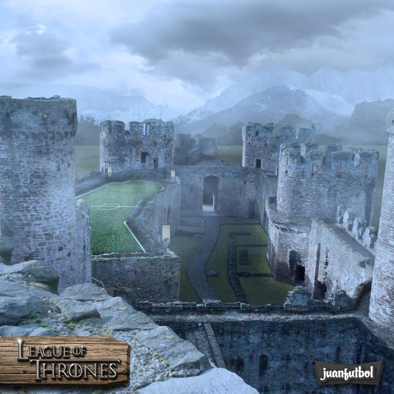 Así serían las canchas entre las principales casas de Game Of Thrones