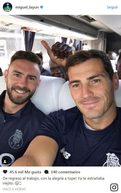 Layún y Casillas se tomaron la foto del reencuentro