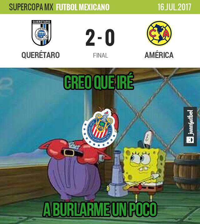 Querétaro le ganó 2-0 al América y es campeón de la Supercopa MX