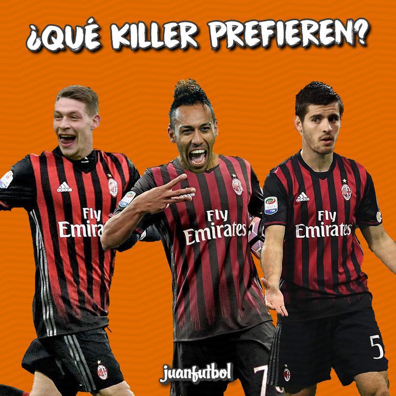 Los delanteros que quiere el Milan